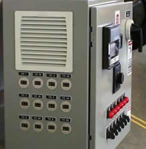 Thermal Process Control Panel
